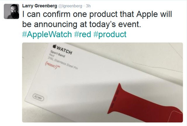 Greenberg Tweet Red Sport Band