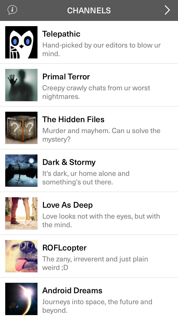 prepare to be creeped out stories from hooked  hooked story list