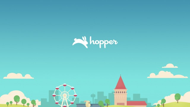 Let the bunny book your flight with Hopper