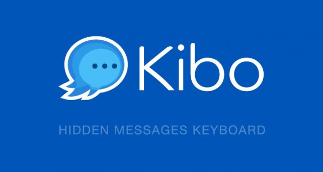 Stay private, send secret messages with the Kibo keyboard