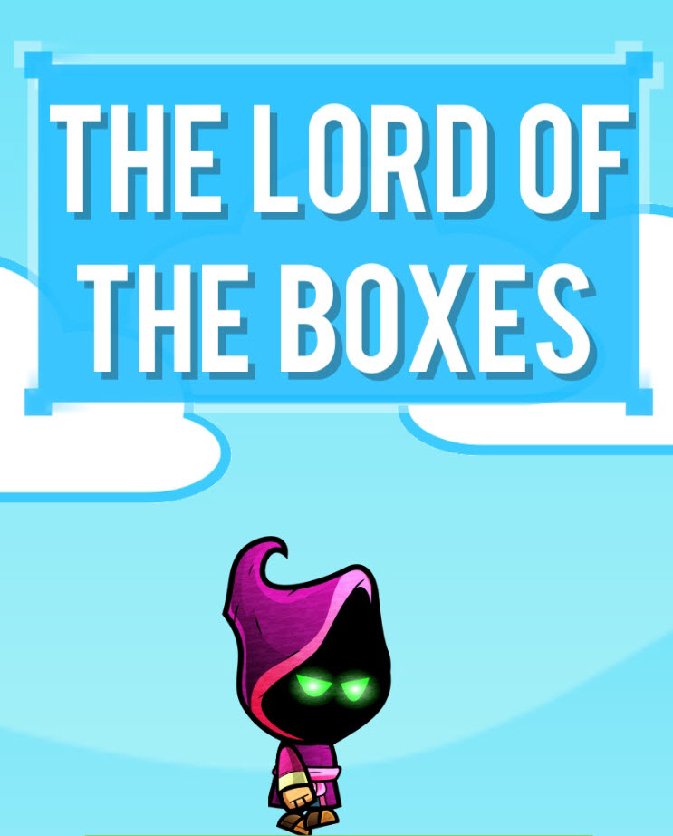 Don't fall and you can become The Lord of the Boxes
