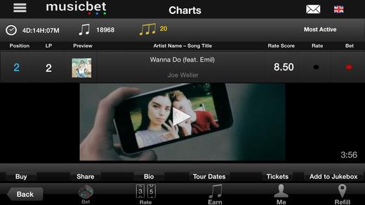 Musicbet Song