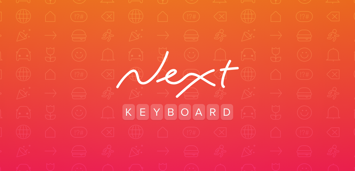 Type away from the ordinary with the Next Keyboard