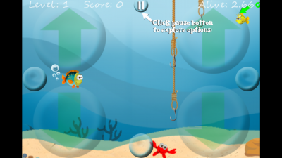 Meet Fish Up: a new iOS scroller that's as fun as it is addictive