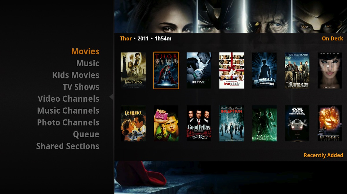 One of the first apps to arrive on Apple TV might be Plex