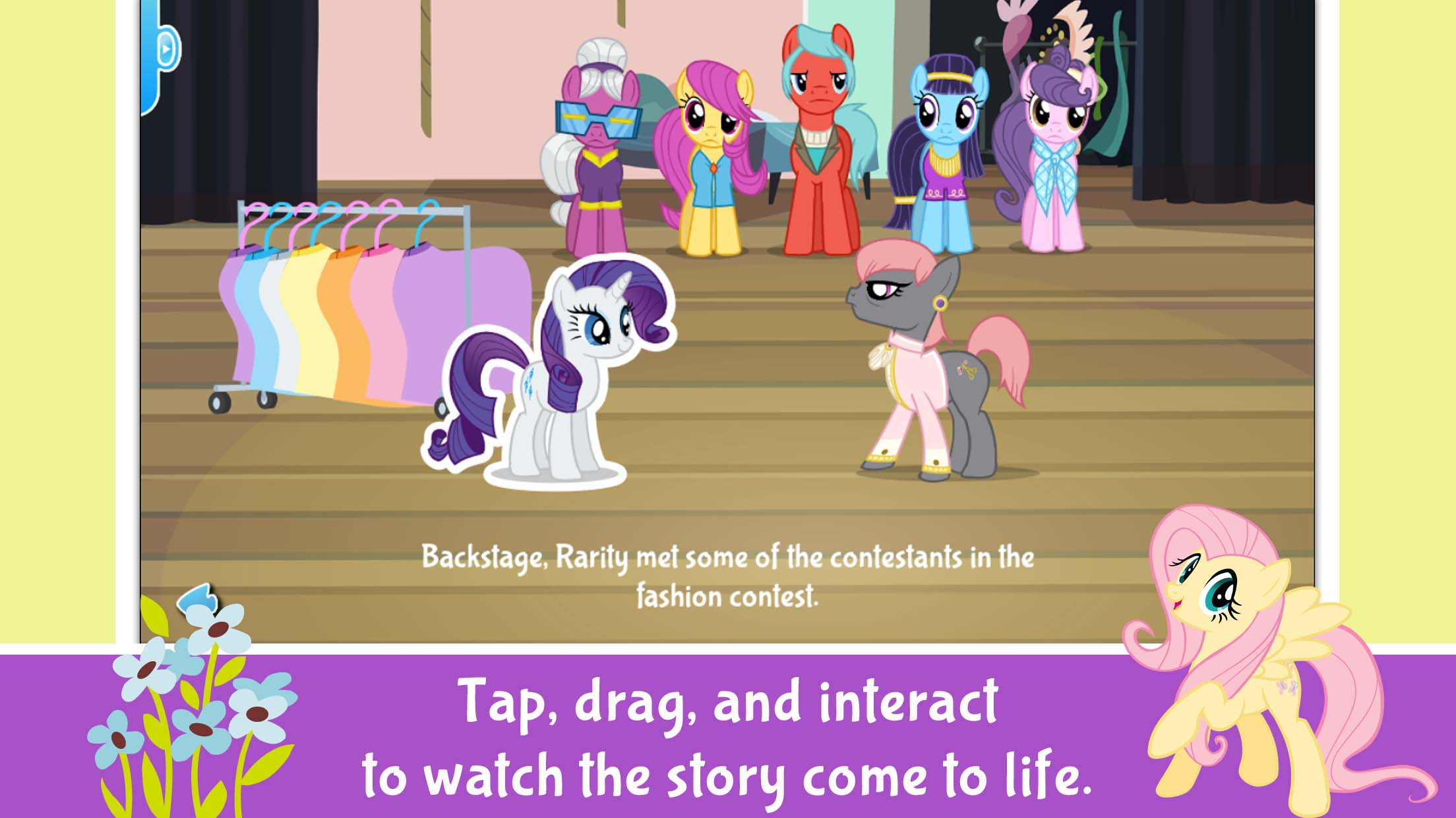 My Little Pony Rarity Takes Manehattan