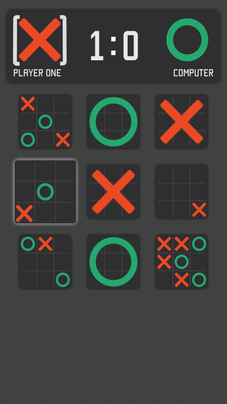 SQRD Ultimate Tic Tac Toe
