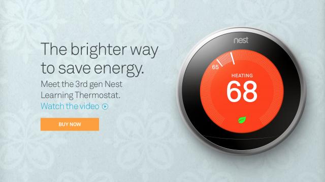 Meet Google's slimmer, sleeker third-gen Nest thermostat