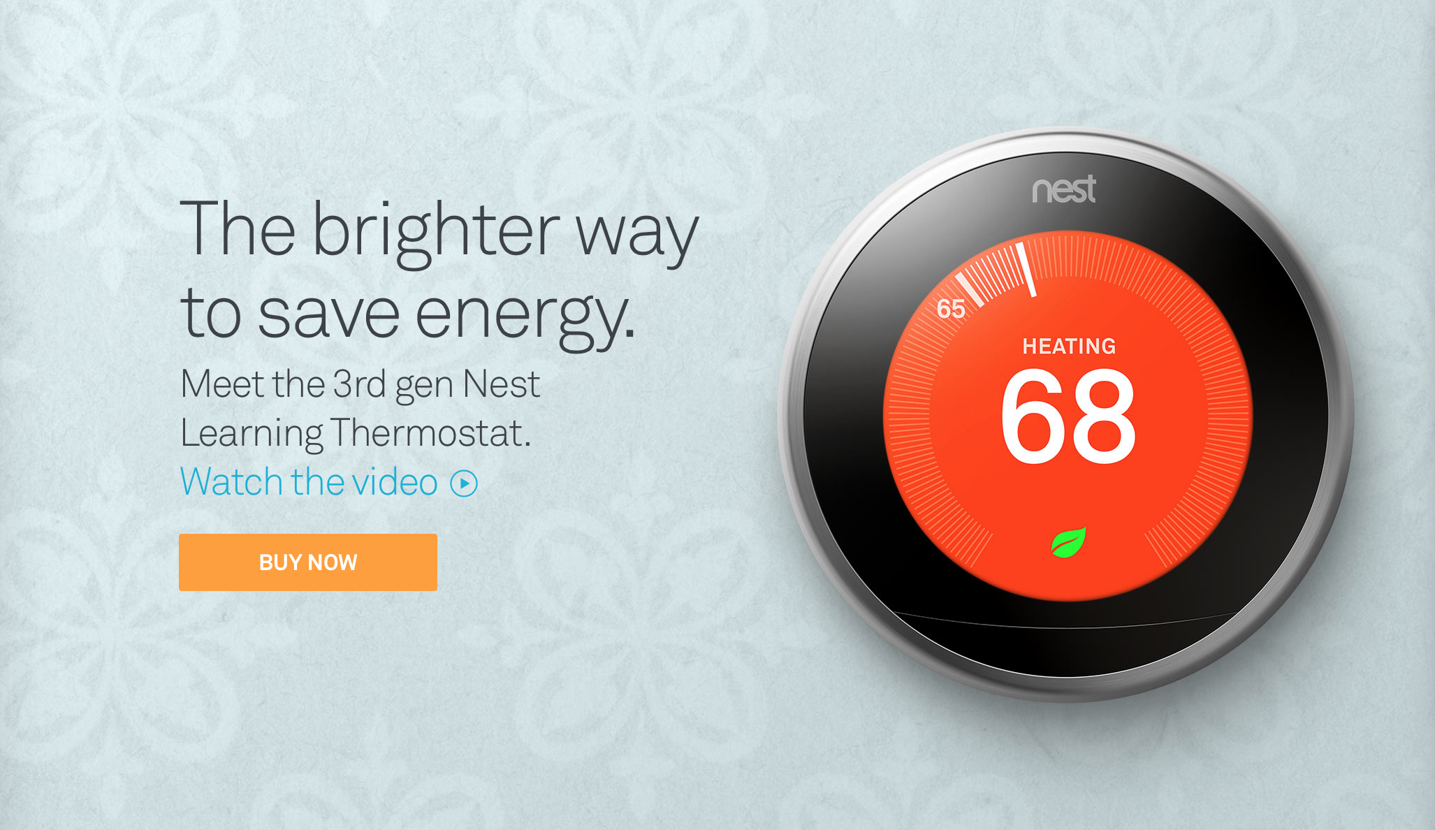 Meet Google's slimmer, sleeker third-gen Nest thermostat