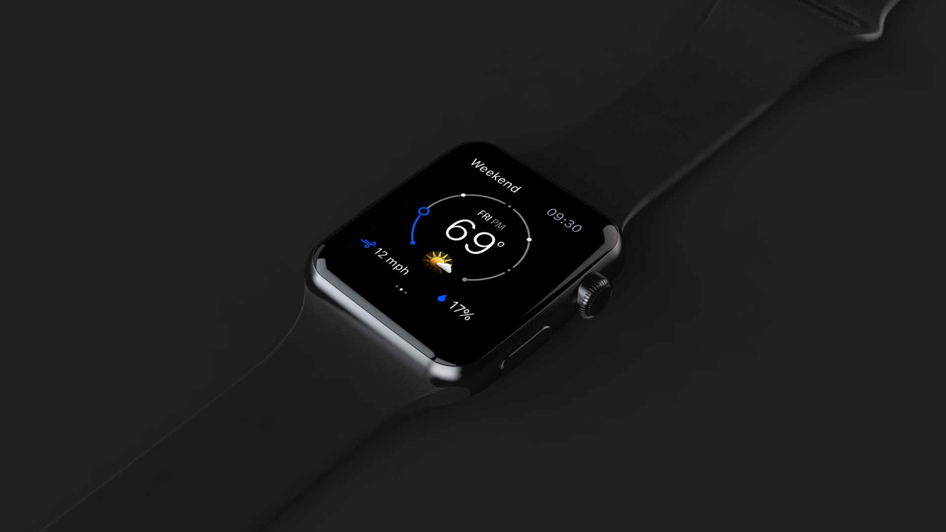 The Weather Channel brings complications to Apple Watch