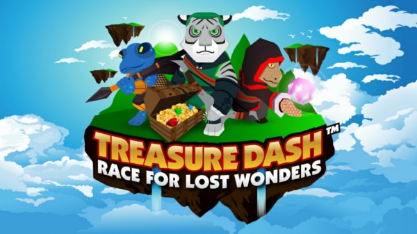 Treasure Dash will have your kids bouncing, for real