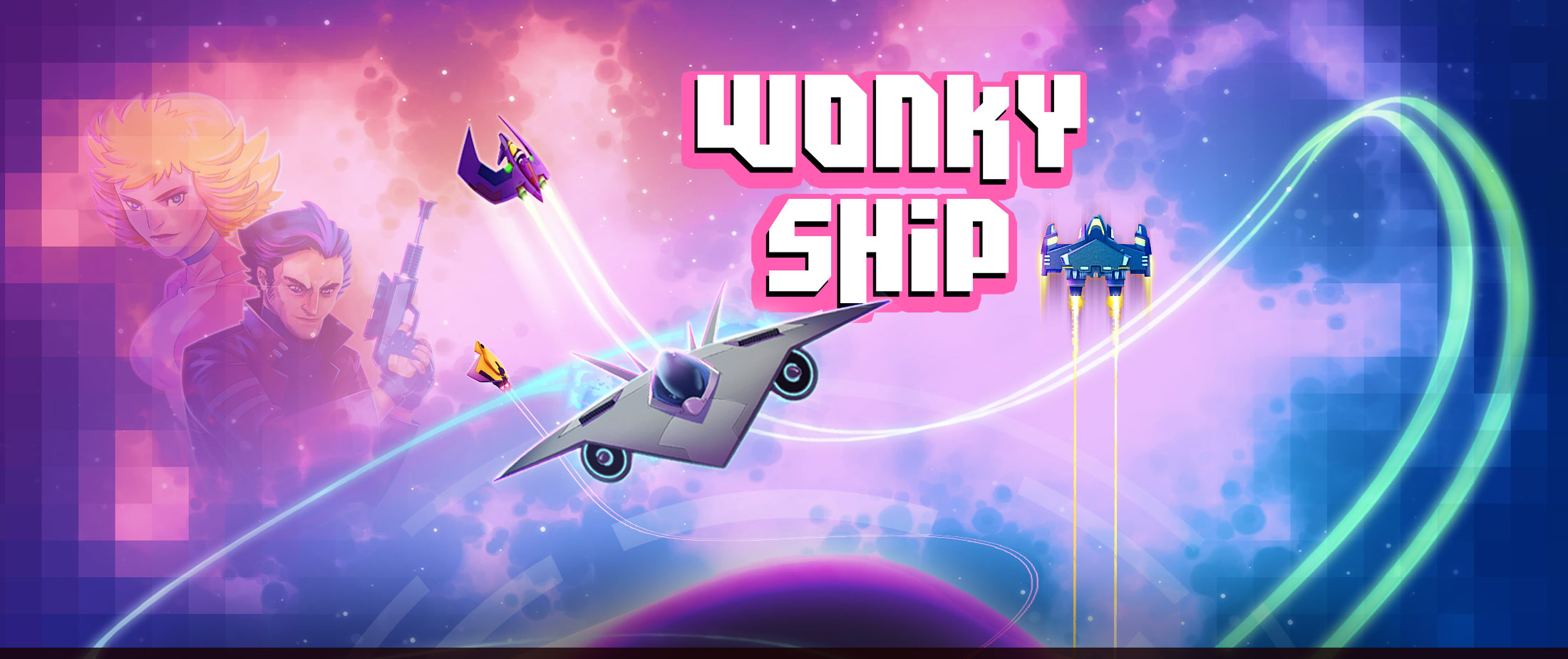 Weave, dodge and flip to survive in Wonky Ship for iOS