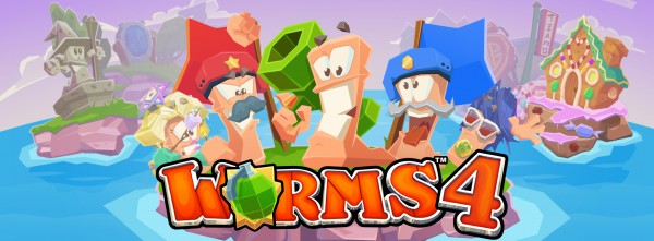 Slither your way to victory in Worms 4
