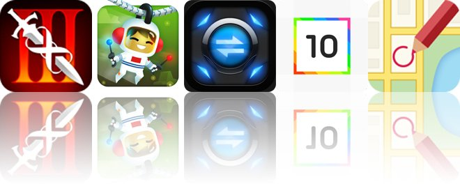 Today's apps gone free: Infinity Blade III, Sky Tourist, Unit Converter and more