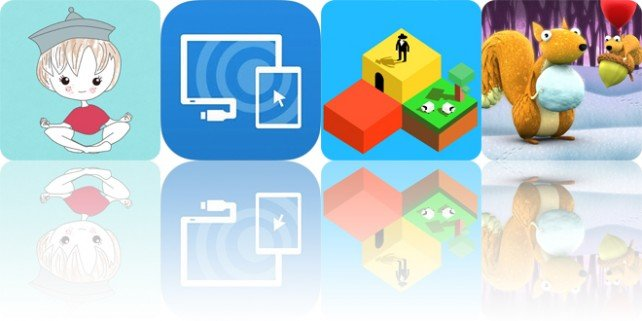 Today's apps gone free: Zenify, Splashtop Wired XDisplay, Blox 3D World Creator and more