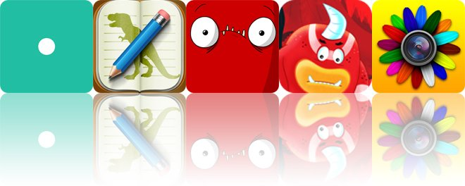 Today's apps gone free: Eureka, Stenosaur, Stress Baal and more