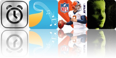 Today's apps gone free: SpeakToSnooze, Musical Paint, NFL Quarterback 15 and more