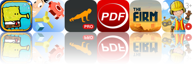 Today's apps gone free: Doodle Jump SpongeBob SquarePants, Blox 3D, Runtastic Push Ups and more