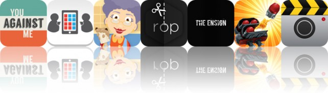 Today's apps gone free: You Against Me, Game42, Grandma's Kitchen and more