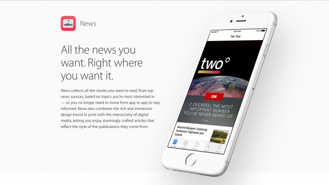 Publishers can provide early and exclusive access to content via Apple News