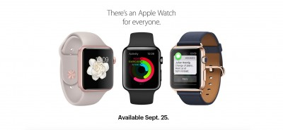 Sprint customers can pick up an Apple Watch along with a new iPhone 6s on Friday