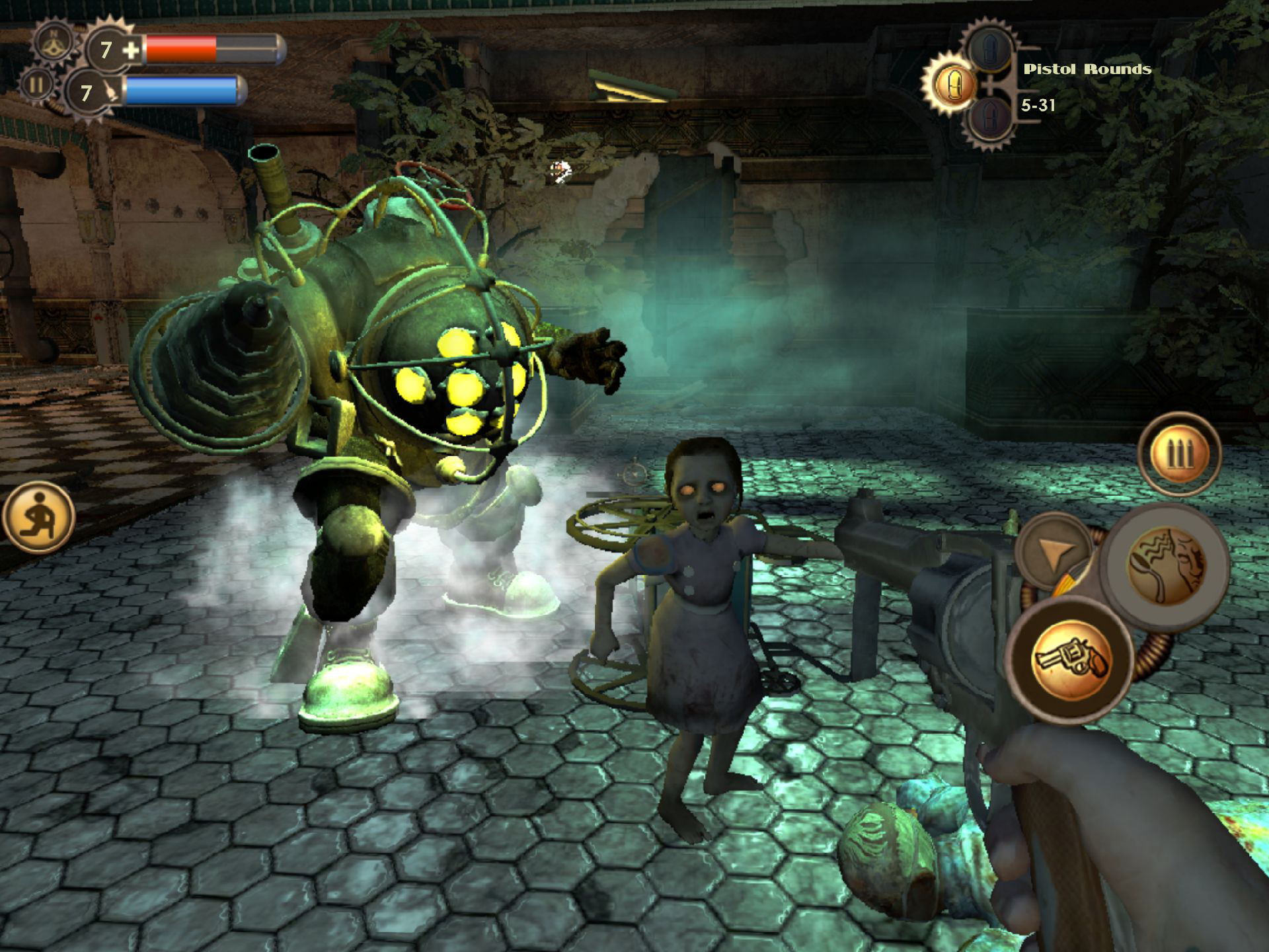 Bioshock for iOS has seemingly been removed from the App Store