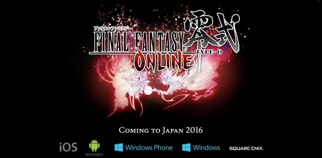 Square Enix announces Final Fantasy Type-0 Online for the iPhone and iPad