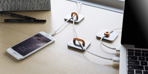 Tame the mess of cords on your desk with the new Guide system from Griffin