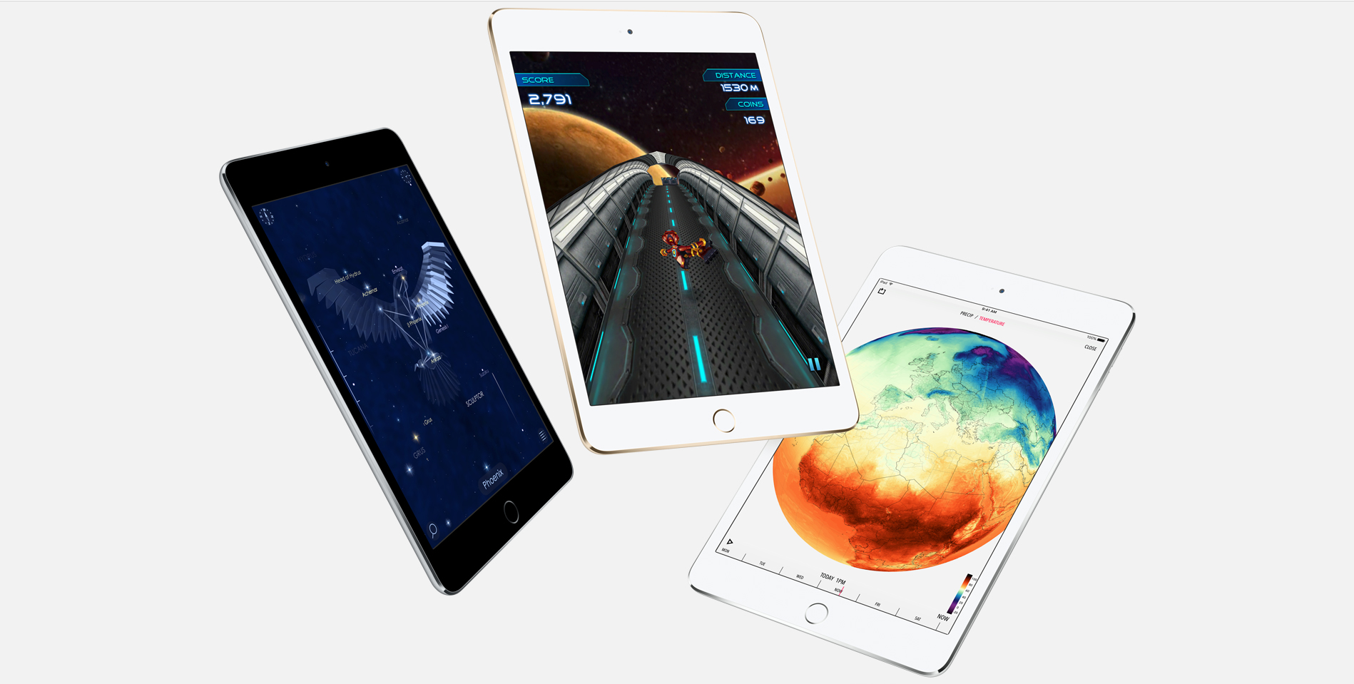 Just like the iPhone 6s and iPhone 6s Plus, the iPad mini 4 sports 2GB of RAM