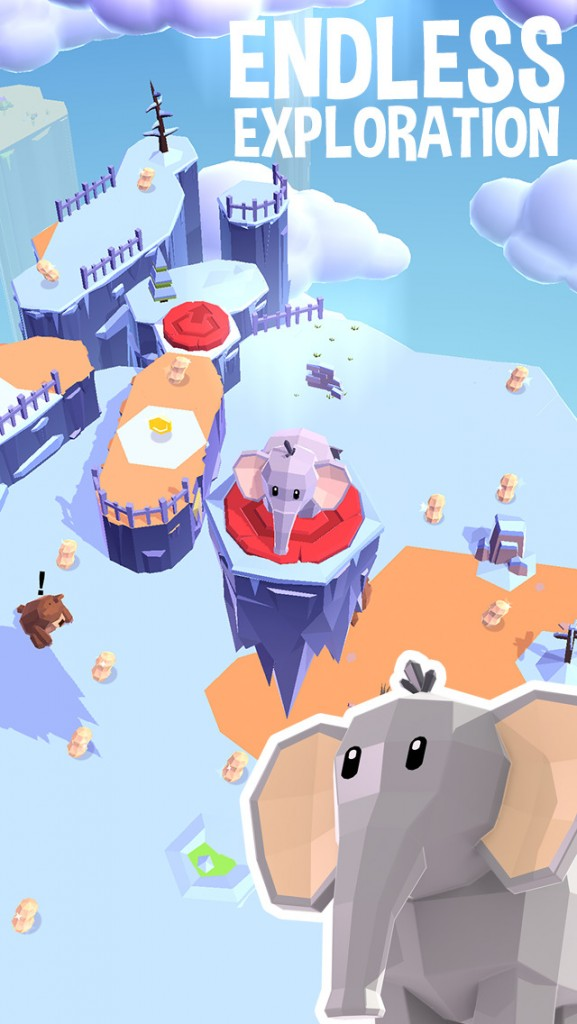Explore a shifting world in Land Sliders, a casual arcade game