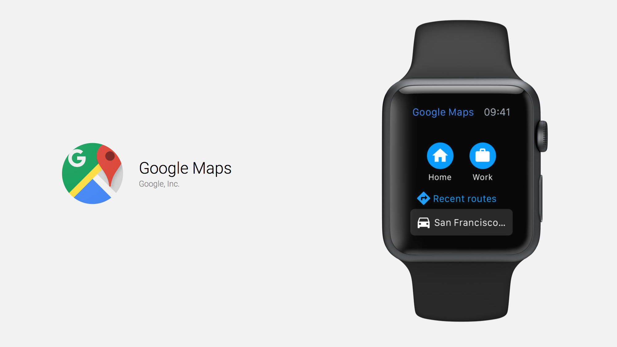 Google Maps lands on the Apple Watch