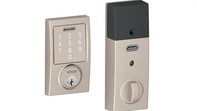 Use Siri to unlock your door with Schlage's HomeKit-enabled Sense deadbolt