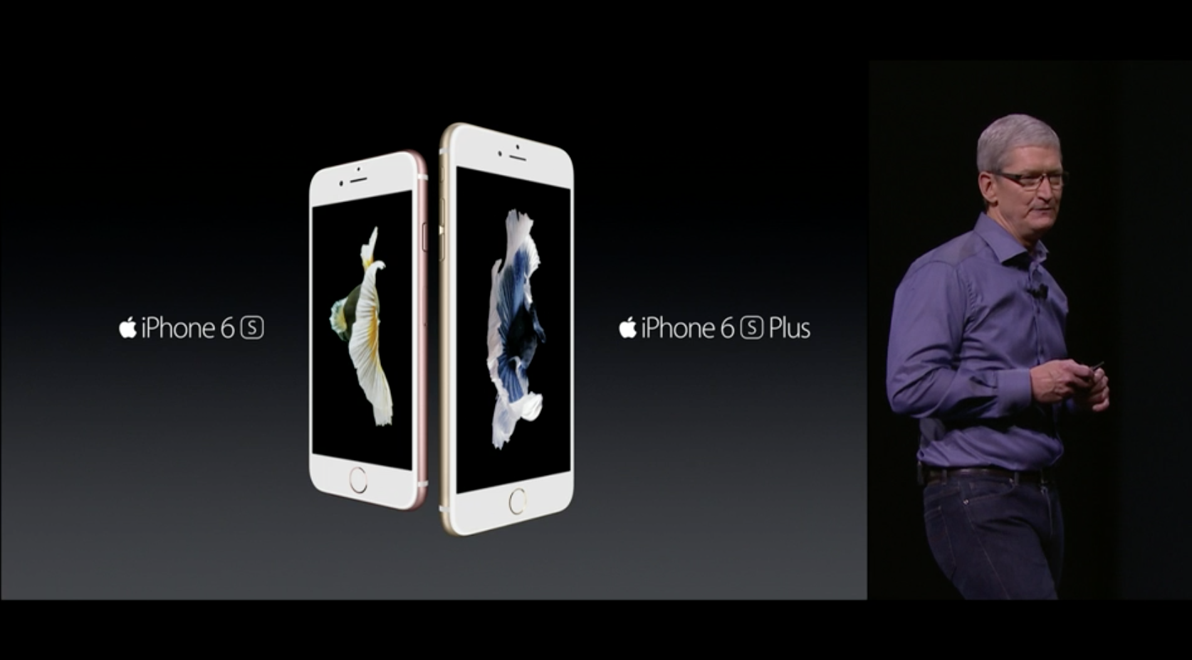 Apple officially unveils the iPhone 6s and iPhone 6s Plus