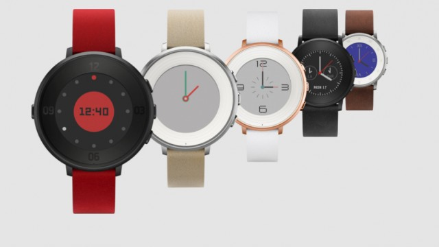 Pebble looks to battle Apple Watch with its new Time Round