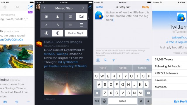 Powerful Twitter client Twitterrific updated with iOS 9 multitasking and more