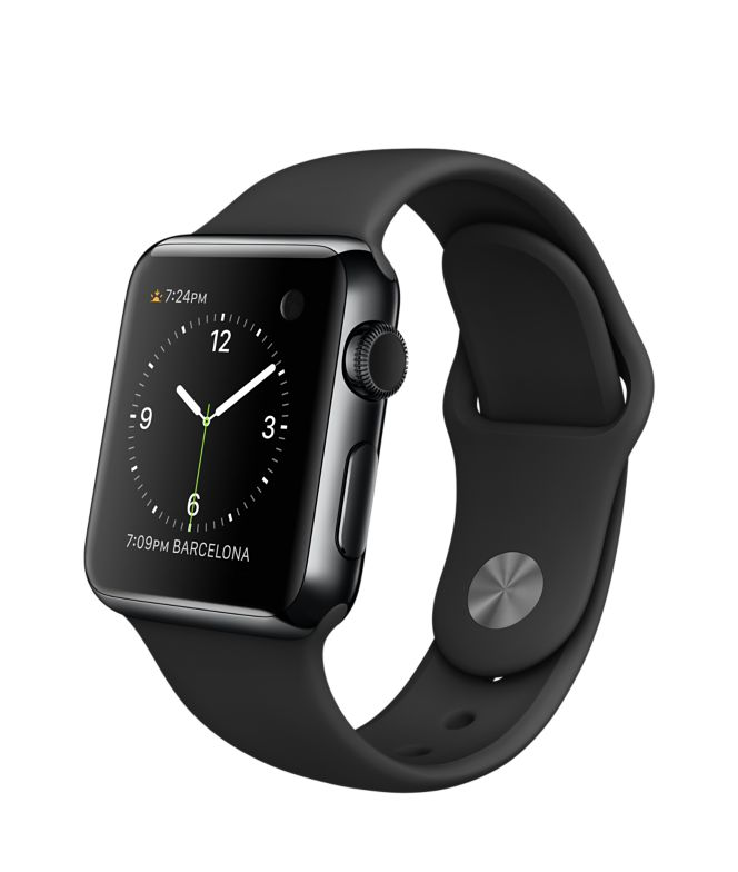 Save some bucks on your Space Black Apple Watch by skipping the Link Bracelet.