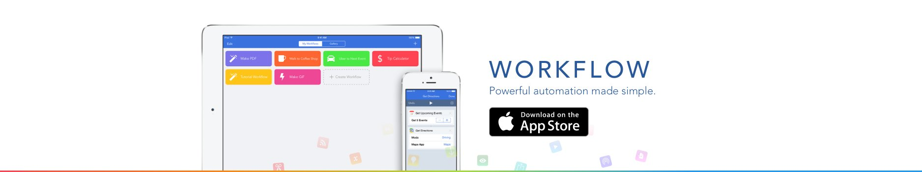 Automation app Workflow receives a big update for iOS 9, WatchOS 2.0