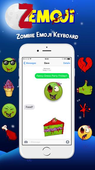 Zemoji for iOS.