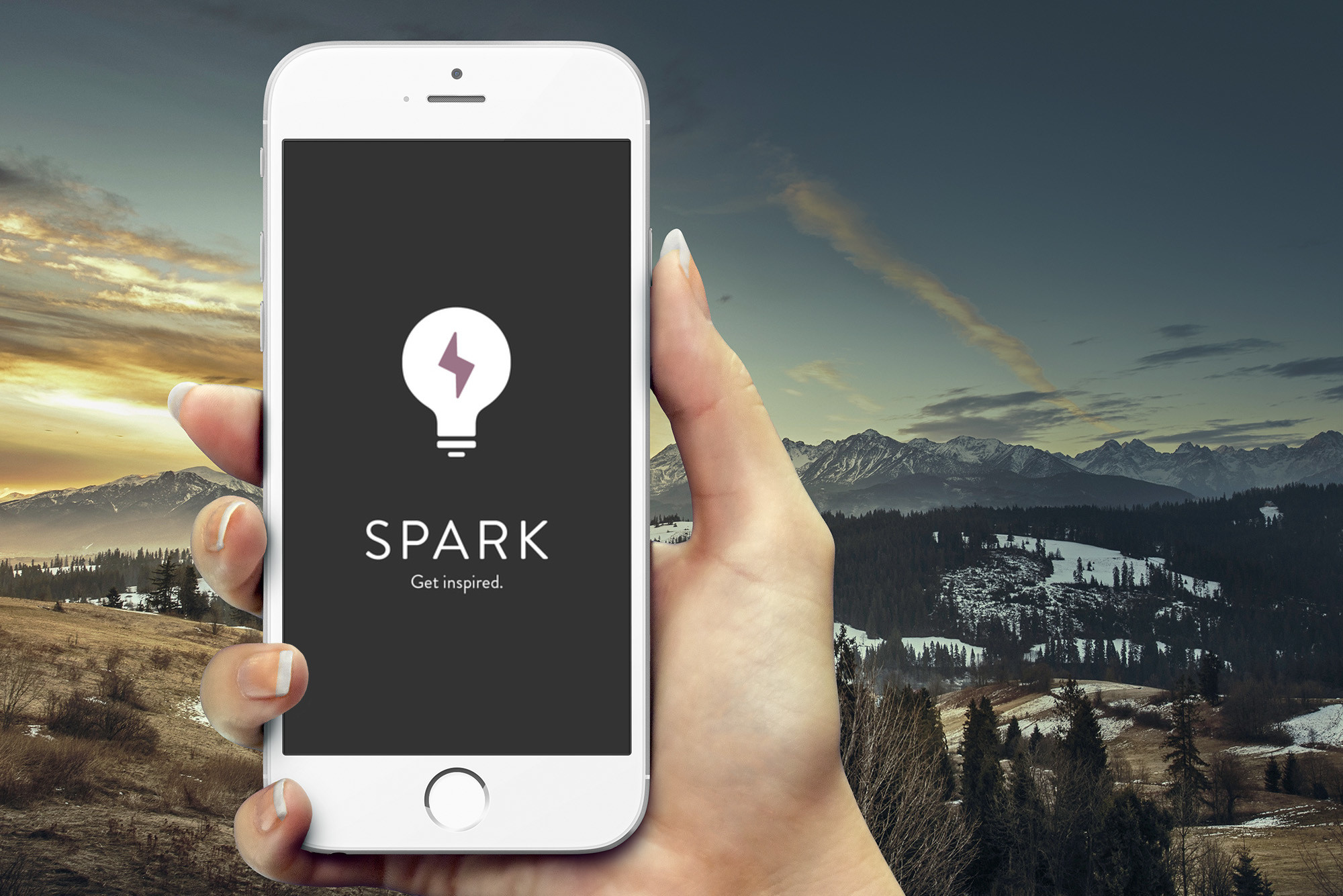 When you need inspiration, a new app can Spark it