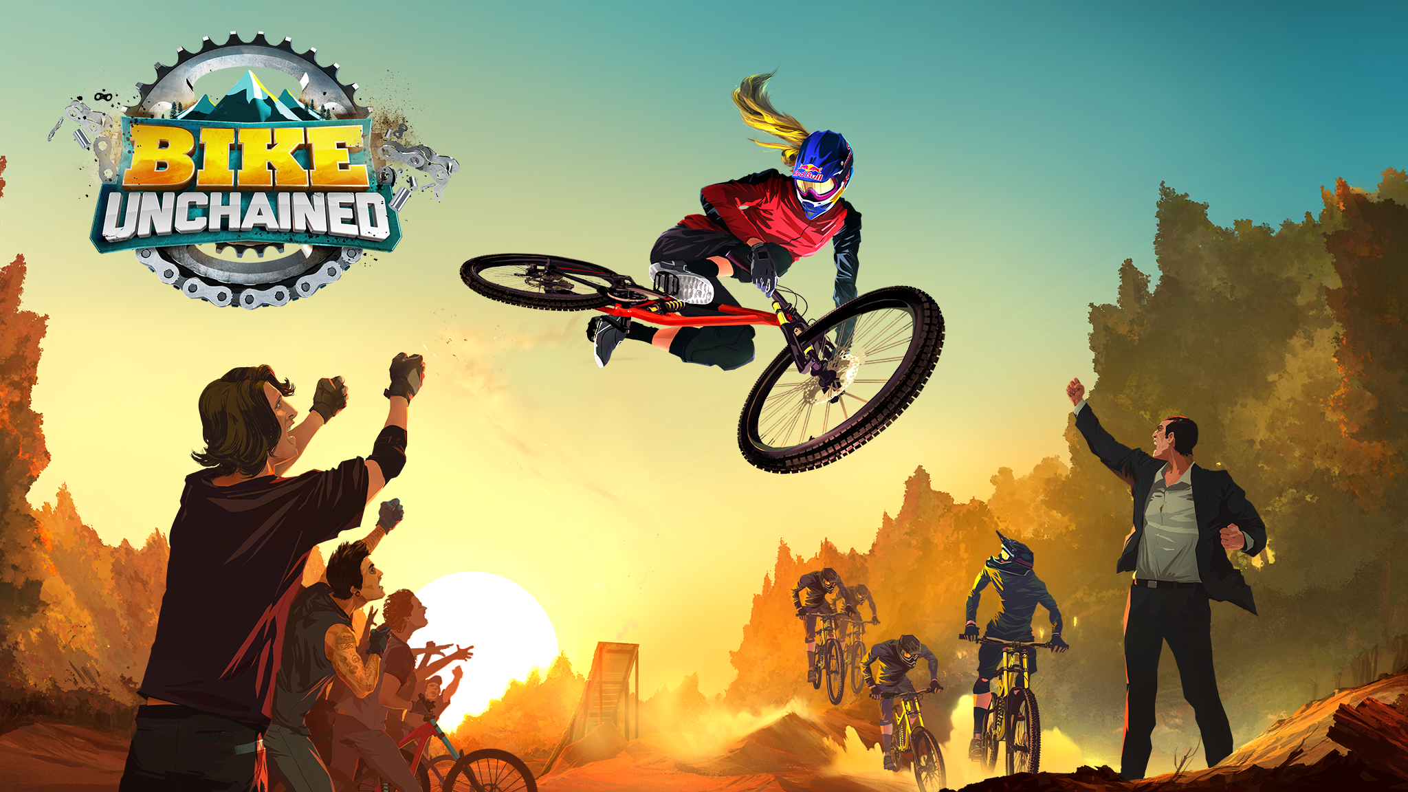 Pull off killer tricks and stunts in Bike Unchained