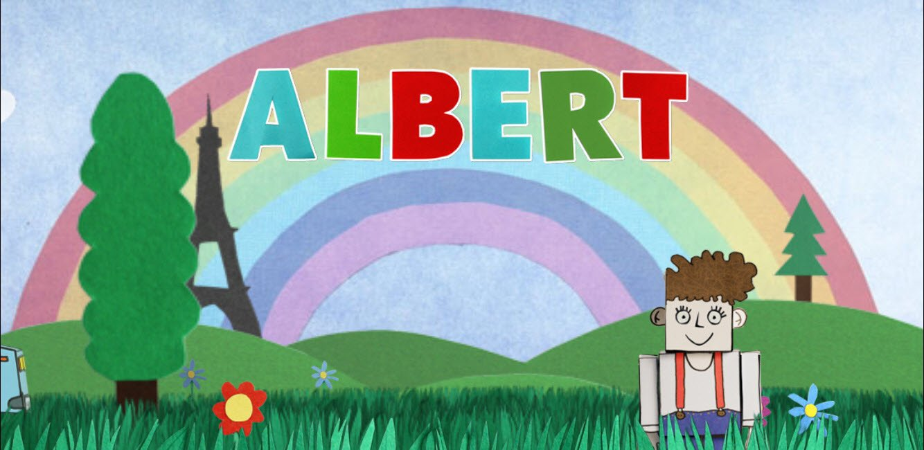 Now kids can spend a fun-filled day with Albert on Apple TV