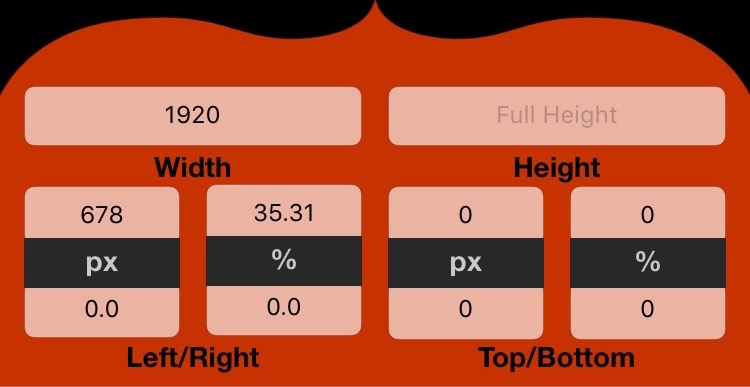 CSS Calculator Width and Height