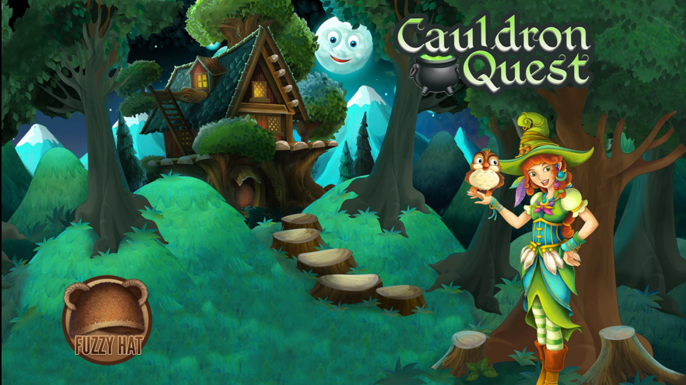 Make magic in the new puzzler Cauldron Quest: A Witch's Tale