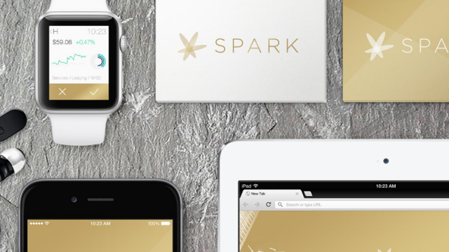 Be a wolf of Wall Street with SPARK for iOS