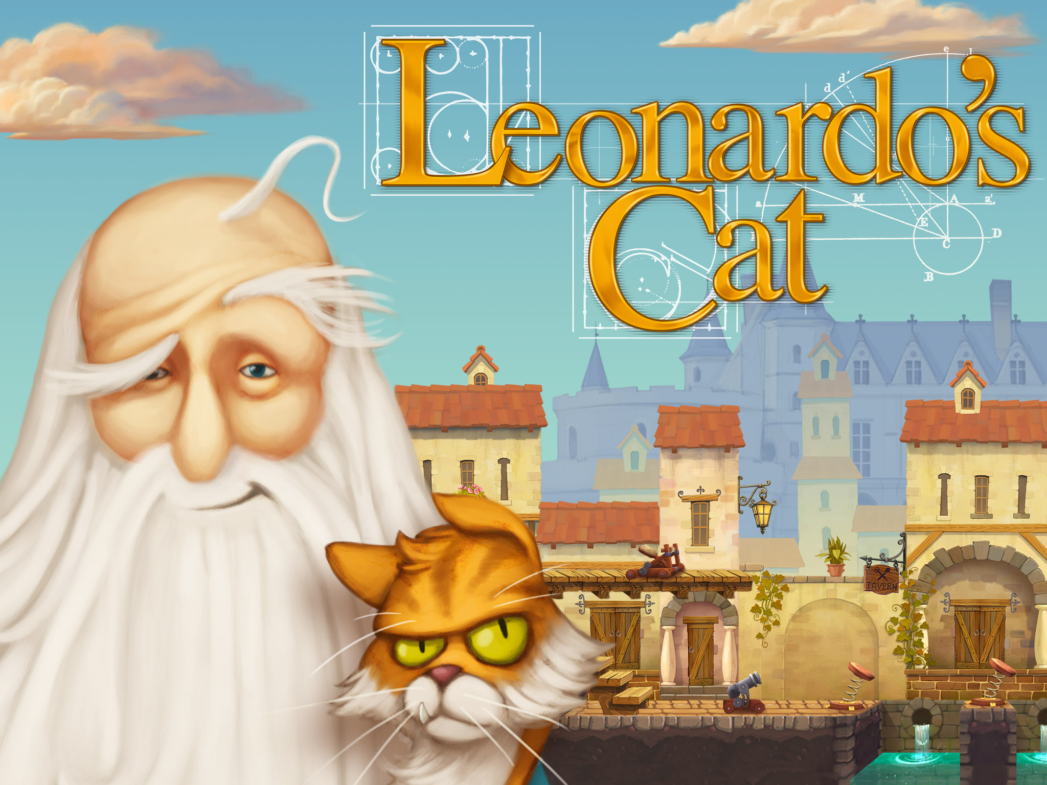 Leonardo's Cat will bring family fun in an invention puzzler