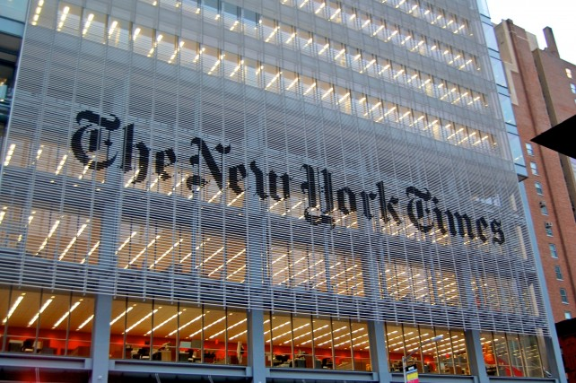 Grab your paper and a day of digital access with The New York Times