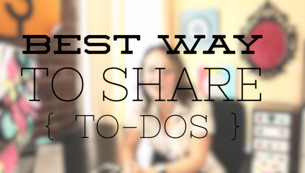 Create and share lists with the people that matter