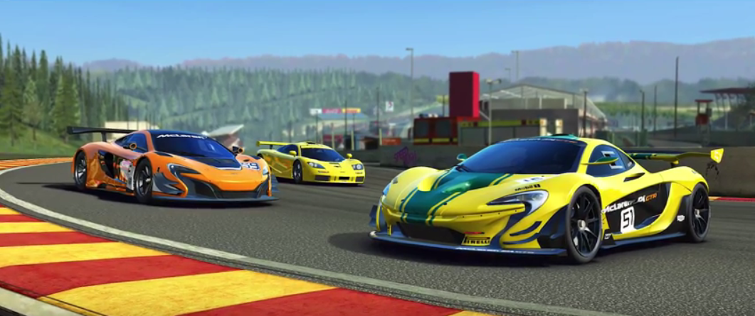 ea s real racing 3 puts you in the winning mclaren f1 gtr. Black Bedroom Furniture Sets. Home Design Ideas