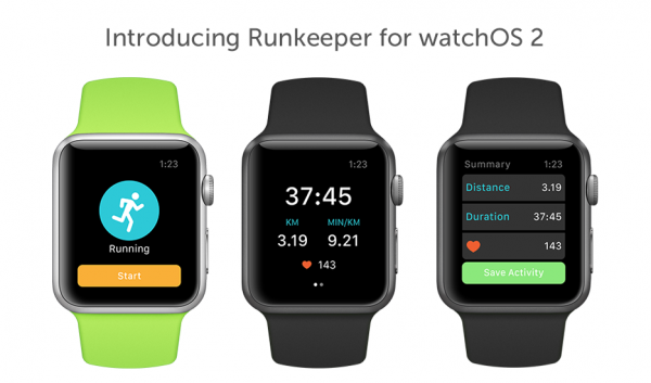 Go phoneless and still track runs with the updated Runkeeper