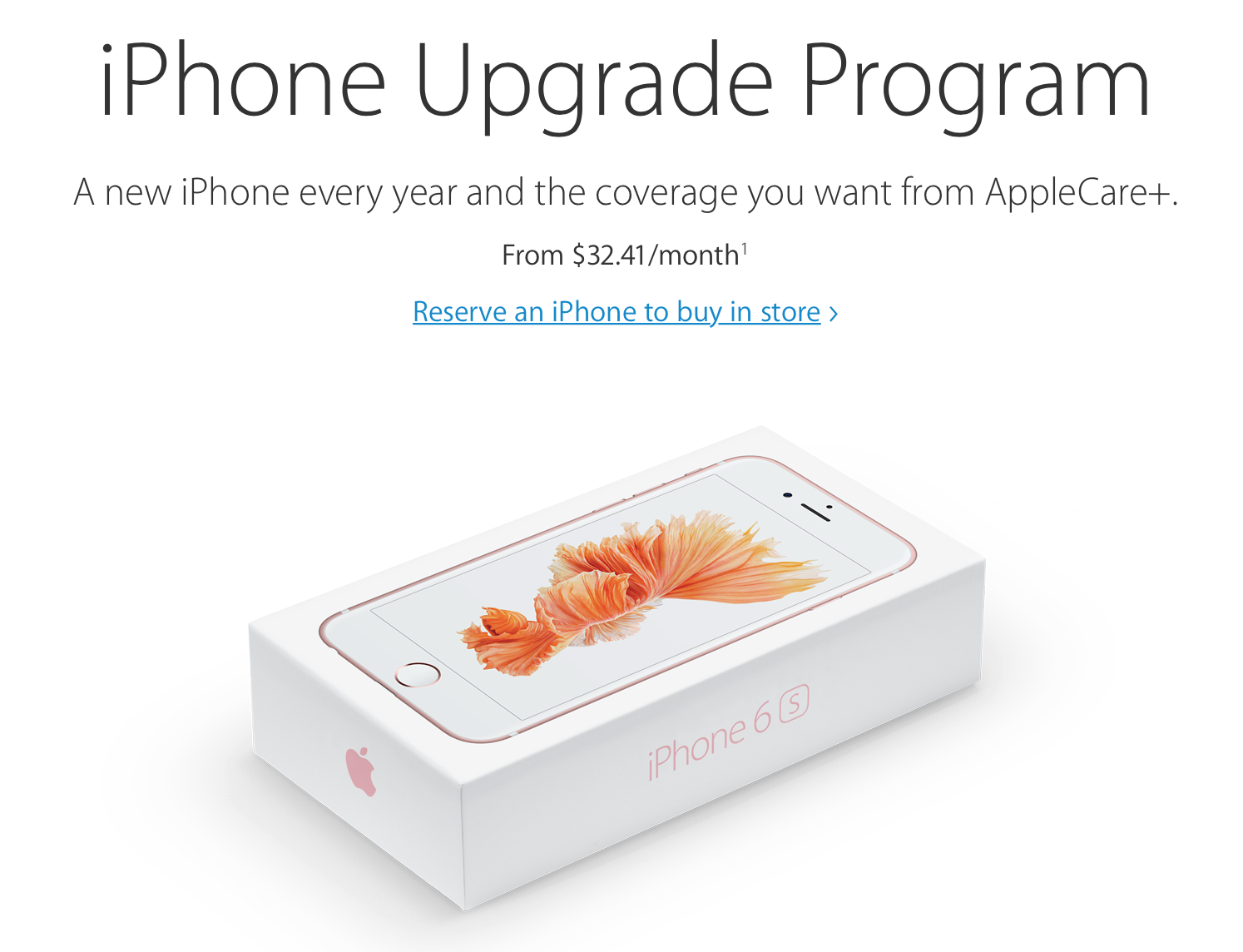 Apple's iPhone Upgrade Program is proving popular among users